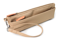 Lihit Lab Otomo Pencil Case - Beige - LIHIT LAB A-7568-16