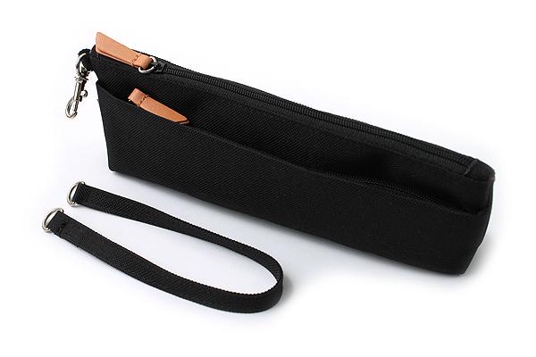 Lihit Lab Otomo Pencil Case - Black - LIHIT LAB A-7568-24
