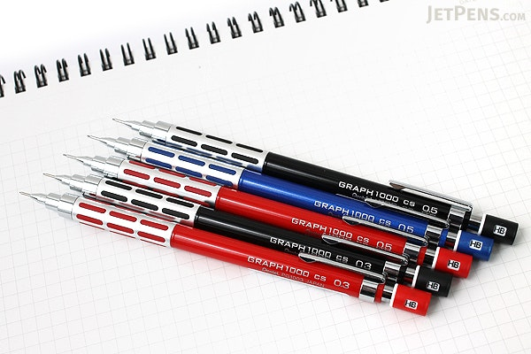 Pentel Graph 1000CS Creator's Style Drafting Pencil - 0.5 mm - Metallic Blue - PENTEL PG1005CS-C