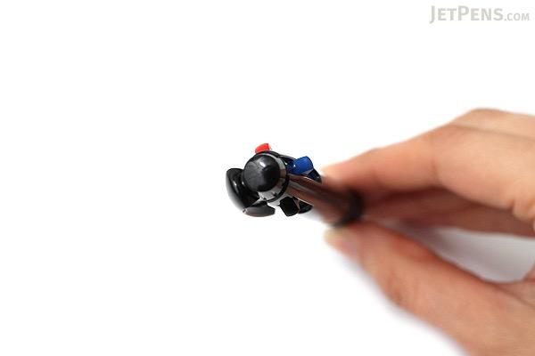 Uni Jetstream 3 Color Ballpoint Multi Pen - 0.7 mm - Dark Black Body - UNI SXE340007T.24