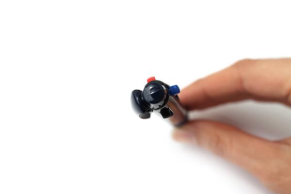 Uni Jetstream 3 Color Ballpoint Multi Pen - 0.5 mm - Transparent Navy Body - UNI SXE340005T.9