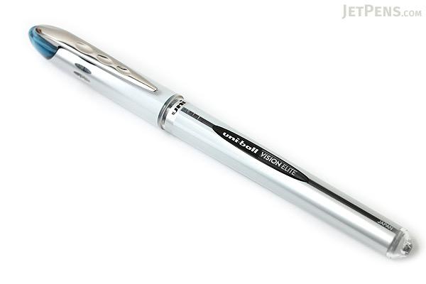 Uni-ball Vision Elite Rollerball Pen - 0.8 mm - Blue Black - UNI-BALL 61103