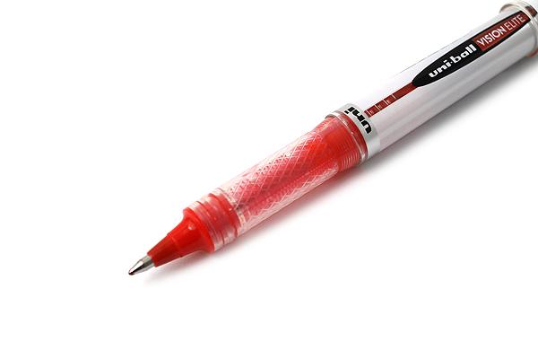 Uni-ball Vision Elite Rollerball Pen - 0.8 mm - Red - UNI-BALL 61105