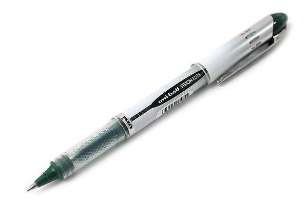 Uni-ball Vision Elite BLX Rollerball Pen - 0.8 mm - Green Black - UNI-BALL 1832412