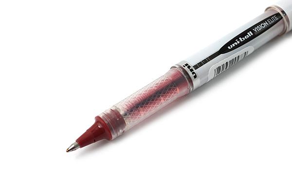 Uni-ball Vision Elite BLX Rollerball Pen - 0.8 mm - Red Black - UNI-BALL 1832414