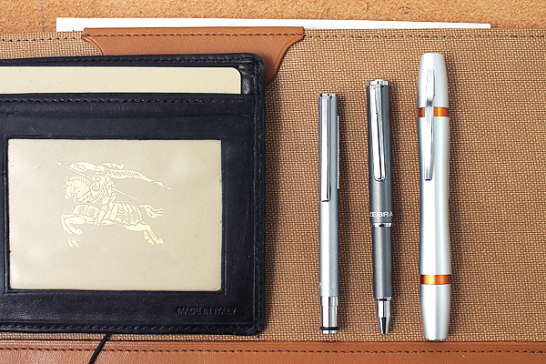 Wallet size pens