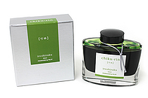 Pilot Iroshizuku Ink - 50 ml - Chiku-rin Bamboo Forest (Yellow Green) - PILOT INK-50-CHK