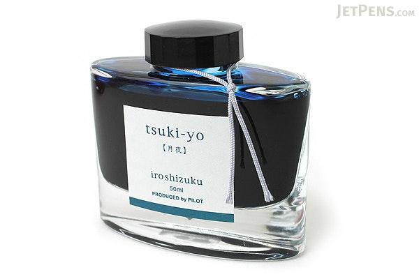 Pilot Iroshizuku Tsuki-yo Ink (Moonlit Night) - 50 ml Bottle - PILOT INK-50-TY