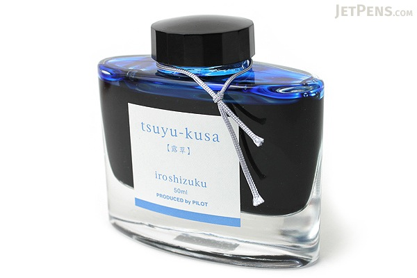 Pilot Iroshizuku Tsuyu-kusa Ink (Dayflower) - 50 ml Bottle - PILOT INK-50-TS
