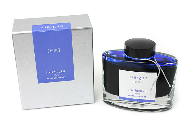 Pilot Iroshizuku Ink - 50 ml - Asa-gao Morning Glory (Dark Blue) - PILOT INK-50-AS