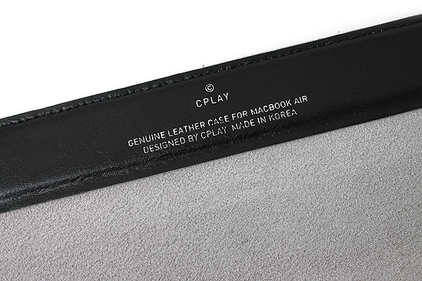 """Cplay Fitvole 13"""" MacBook Air Leather Case - Black - CPLAY 8809179927017"""