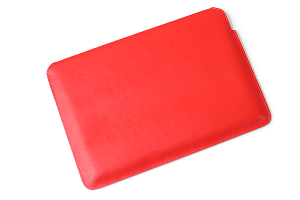 """Cplay Fitvole 13"""" MacBook Air Leather Case - Red - CPLAY 8809179927000"""