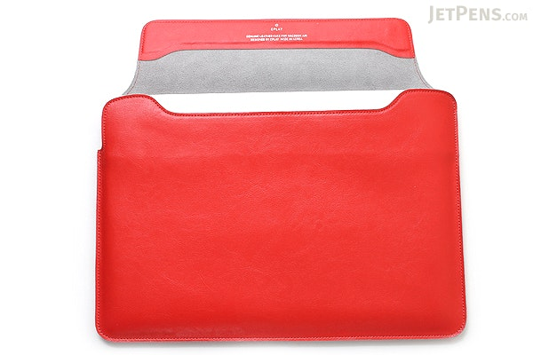 """Cplay Fitvole 11"""" MacBook Air Leather Case - Red - CPLAY 8809179926959"""