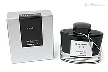 Pilot Iroshizuku Take-sumi Ink (Bamboo Charcoal) - 50 ml Bottle - PILOT INK-50-TAK