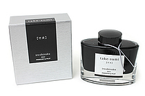Pilot Iroshizuku Ink - 50 ml - Take-sumi Bamboo Charcoal (Black) - PILOT INK-50-TAK