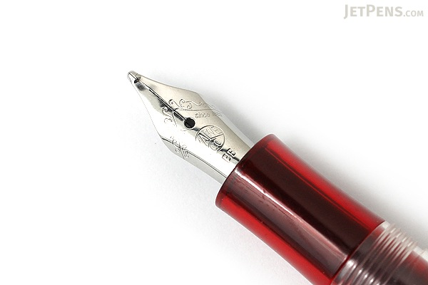 Kaweco Ice Sport Fountain Pen - Red - Double Broad Nib - KAWECO 10000424