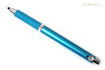 Uni Kuru Toga Auto Lead Rotation Mechanical Pencil with Rubber Grip - 0.5 mm - Blue Body - UNI M56561P.33