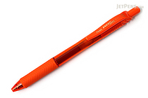 Pentel EnerGel X Metal-Tip Retractable Gel Pen - 0.7 mm - Orange - PENTEL BL107-F