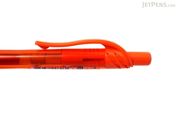 Pentel EnerGel X Metal-Tip Retractable Gel Pen - 0.7 mm - Orange - PENTEL BL107-F