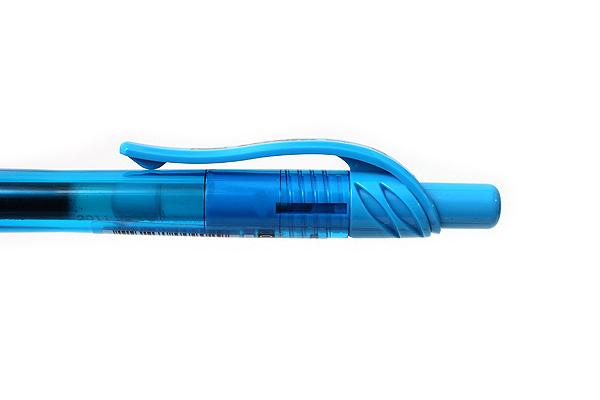 Pentel EnerGel X Metal-Tip Retractable Gel Pen - 0.7 mm - Sky Blue - PENTEL BL107-S
