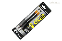 Pilot G2 Gel Pen Refill - 1.0 mm - Black - Pack of 2 - PILOT BG21RBLK