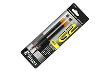 Pilot G-2 Gel Pen Refill - 1.0 mm - Black - Pack of 2 - PILOT 77289