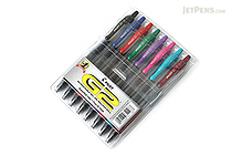 Pilot G2 Gel Pen - 0.7 mm - 8 Color Set - PILOT G27C8001-P