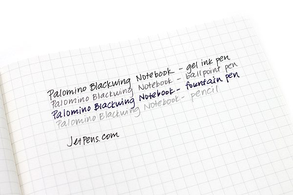 "Palomino Blackwing Luxury Notebook - Medium - 5"" x 8.25"" - Graphing - PALOMINO 103219"