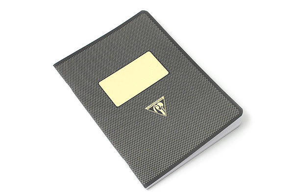 Clairefontaine Collection 1951 Notebook - A5 - Lined - Black - CLAIREFONTAINE 195236