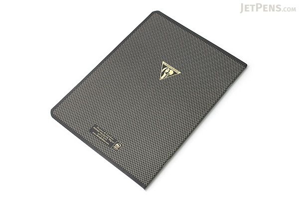 Clairefontaine Collection 1951 Staplebound Notebook - A5 - Lined - Black - CLAIREFONTAINE 195236