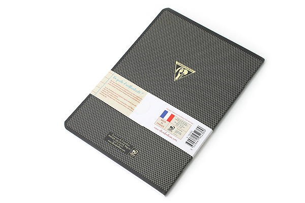 """Clairefontaine Collection 1951 Notebook - 5.75"""" x 8.25"""" - Lined - 48 Sheets - Black - Bundle of 2 - CLAIREFONTAINE 195236 BUNDLE"""