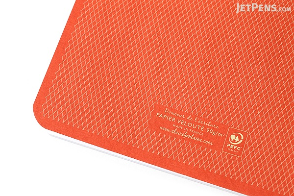 Clairefontaine Collection 1951 Staplebound Notebook - A5 - Lined - Red Coral - CLAIREFONTAINE 195436
