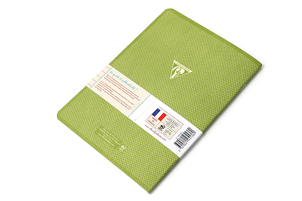 "Clairefontaine Collection 1951 Notebook - 5.75"" x 8.25"" - Lined - 48 Sheets - Green - Bundle of 2 - CLAIREFONTAINE 195536 BUNDLE"