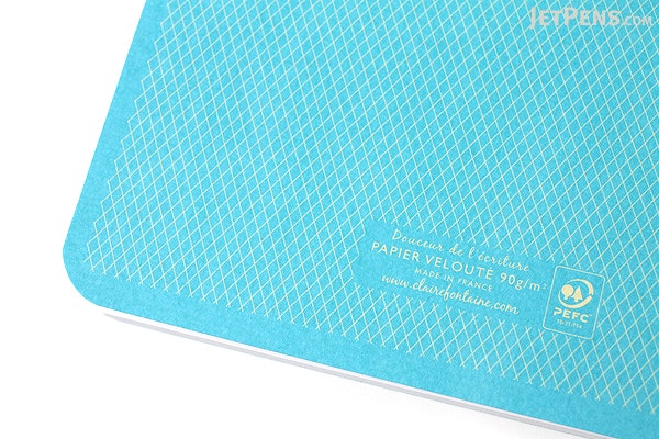 Clairefontaine Collection 1951 Staplebound Notebook - A5 - Lined - Turquoise - CLAIREFONTAINE 195736