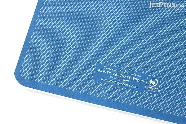 Clairefontaine Collection 1951 Staplebound Notebook - A5 - Lined - Blue - CLAIREFONTAINE 195936