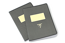 "Clairefontaine Collection 1951 Notebook - 5.75"" x 8.25"" - Lined - 48 Sheets - Black - Bundle of 2 - CLAIREFONTAINE 195236 BUNDLE"