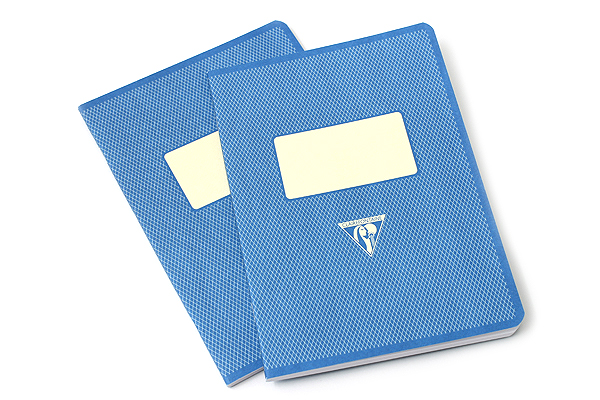 "Clairefontaine Collection 1951 Notebook - 5.75"" x 8.25"" - Lined - 48 Sheets - Blue - Bundle of 2 - CLAIREFONTAINE 195936 BUNDLE"