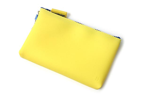 P+G Nuu Silicone Multi Pouch - Yellow - P+G NUU YL