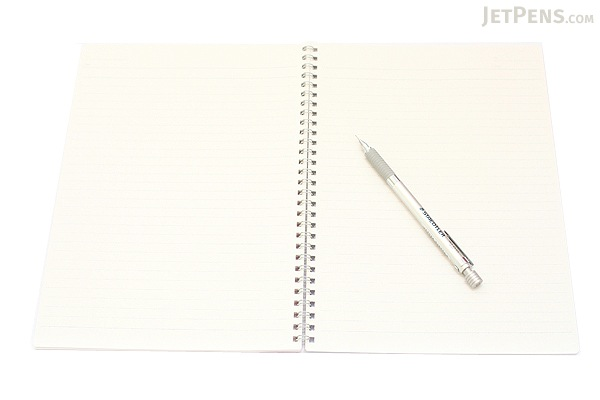 Kokuyo Campus Twin Ring Notebook - Semi B5 - Dotted 7 mm Rule - 40 Sheets - Pack of 5 - KOKUYO SU-T115AT BUNDLE