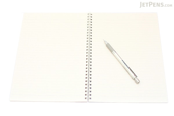 Kokuyo Campus Twin Ring Notebook - Semi B5 - Dotted 7 mm Rule - 40 Sheets - Pack of 5 - KOKUYO SU-T115AT BUNDLE