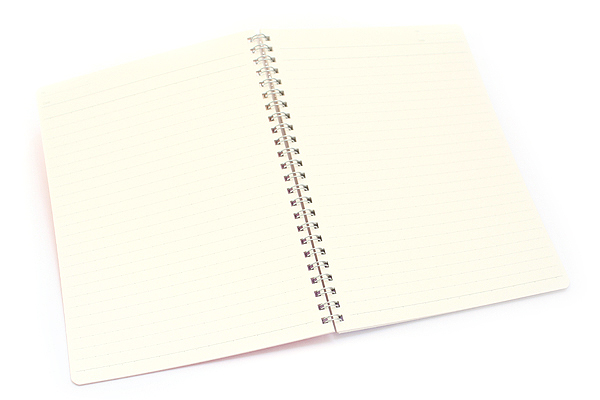 Kokuyo Campus Twin Ring Notebook - A5 - Dotted 7 mm Rule - 50 Sheets - Pack of 5 - KOKUYO SU-T135AT BUNDLE