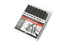 Sakura Pigma Sensei Drawing Pen - 8 Piece Set - SAKURA 50204
