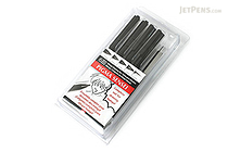 Sakura Pigma Sensei Drawing Pen - 6 Piece Set - SAKURA 50200