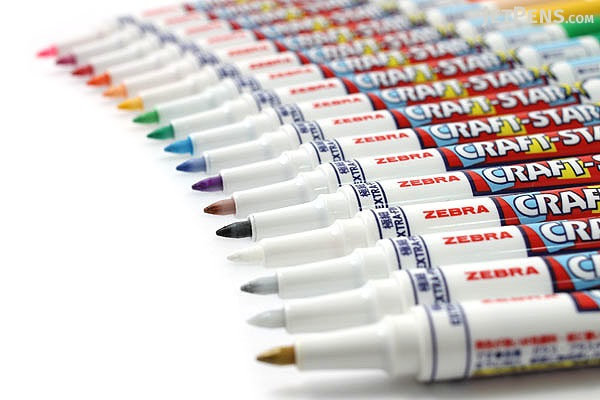 Zebra Craft-Star 1 Marker - 0.7 mm - Violet - ZEBRA WYSSZ8-PU