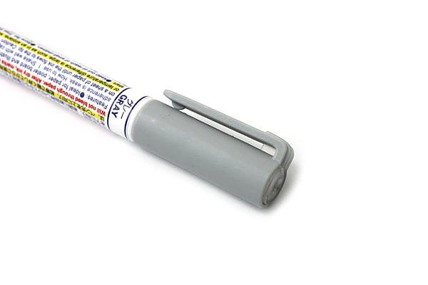 Zebra Craft-Star 1 Marker - 0.7 mm - Gray - ZEBRA WYSSZ8-GR