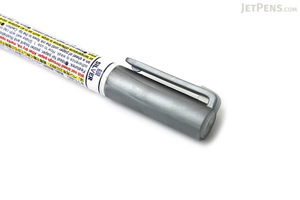 Zebra Craft-Star 1 Marker - 0.7 mm - Silver - ZEBRA WYSSZ8-S