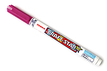 Zebra Craft-Star 1 Marker - 0.7 mm - Wine - ZEBRA WYSSZ8-RP