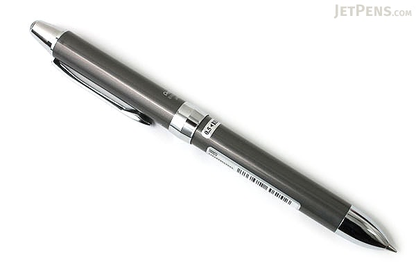 Pentel Vicuna EX 2 Color 0.7 mm Ballpoint Multi Pen + 0.5 mm Pencil - Silver Body - PENTEL BXW1375Z