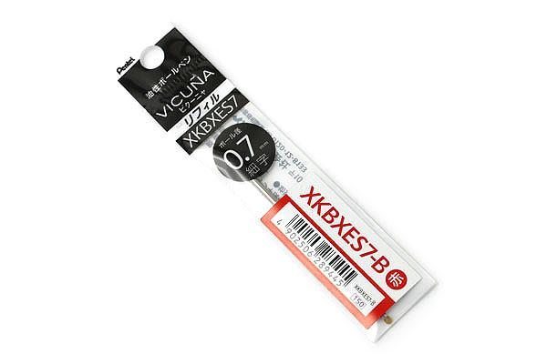 Pentel Vicuna XKBXES7 Ballpoint Pen Refill - D1 - 0.7 mm - Red - PENTEL XKBXES7-B