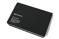 "Metaphys Blanc Fabric Cover Memo Pad - 5.1"" x 3.4"" - Black - METAPHYS 44110-BK"